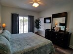 BR#1 - Master (King) with private bath, jacuzzi tub and separate shower