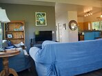 TV & game room with unlimited Netflix. Enjoy some down time after a day of outdoor adventures
