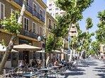 Calle Marqués de Campo en Dénia