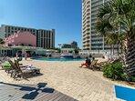 2nd Beach Pool w/Restaurant & Beach Bar to prepare your favorite choice of beverage!