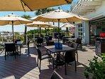 Beach Restaurant Outdoor Seating