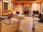 Game Room | Fireplace | Smart TV | Shuffleboard Table