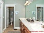Master Bathroom with Whirlpool Tub II