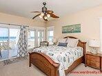 1st Floor Oceanfront Master Bedroom with Queen Bed