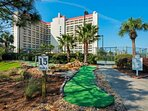 Arrange a Friendly Putt Putt Golf Tournament