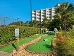 Putt Putt Golf that everyone of all ages can enjoy!