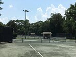 Loads of Tennis Courts within walking distance