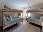 Great Bunk Room Or just Use for 2 Twins