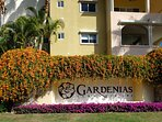 Entrance to Las Gardenias