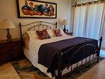 Master bedroom, calif. King