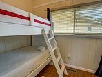 Top-Level Bedroom with Bunk Bed