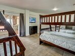 Ground-Level Bedroom with 3 Duo Bunks
