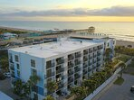 Situated steps from the beach, this building has spectacular views and is in an A+ location.