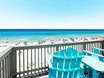 Master Bedroom Balcony - Sanddollar Townhomes Unit 11 Miramar Beach Destin Florida Vacation Rentals