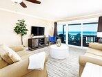 Living Room - Sanddollar Townhomes Unit 11 Miramar Beach Destin Florida Vacation Rentals