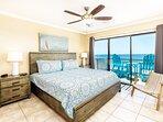 Master Bedroom - Sanddollar Townhomes Unit 11 Miramar Beach Destin Florida Vacation Rentals