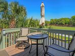 This lovely porch welcomes you to 946 Sealoft.