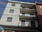 balcone laterale 3° piano