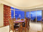 Great views from the dining area.