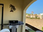 Gas Grill on Main Patio