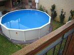 piscina de 5,5 m. de diametro