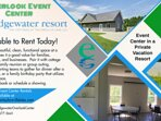 Looking for an event center during your stay? Seats 60 people. Low rates. Ask for info