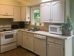 Whip up a meal in the fully equipped kitchen.