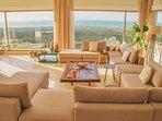 Villa ChillAndSwell - Salon Vue Panoramique sur Océan et Foret