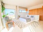 Villa ChillAndSwell - Chambre Arabesque  Vue Panoramique sur Océan et Foret