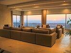 Villa ChillAndSwell - Salon Vue Sunset