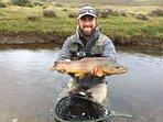 Pesca en el río de la estancia