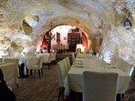 Just down the street, find the La Locanda Dell'Arco restaurant dug into the mountainside. Enjoy!