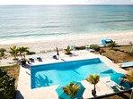 Villa Azul ocean front view