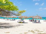 Eagle Beach - One of Aruba's best beaches (known to be less crowded)