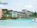 Oceania Resort - single swimming pool area