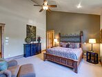 Grand Master Bedroom Suite with King Bed