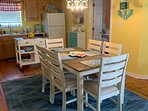 Dinette with kitchen