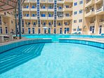 There are two shallow kids pools available at Tiba Resort in Hurghada. Perfect for the younger ones.